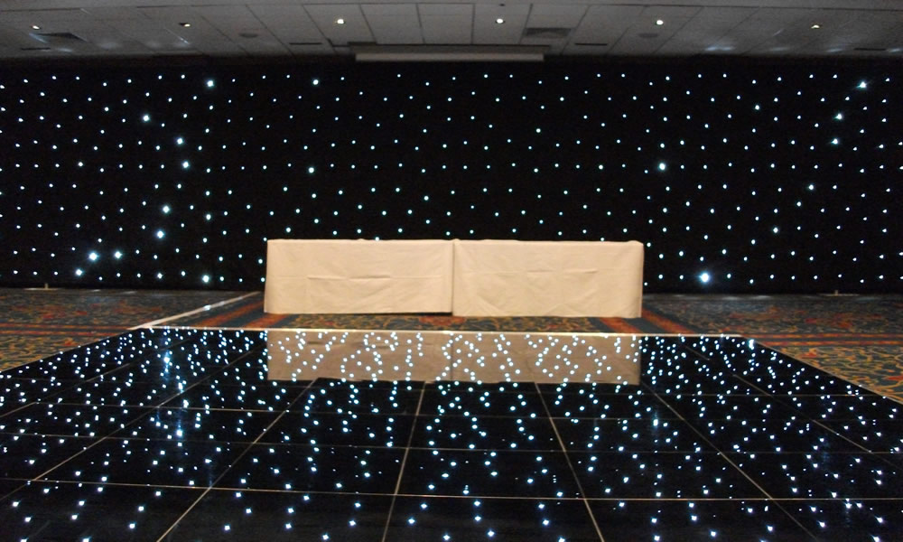 Drape Hire Services: Drape Hire and Lighting Hire